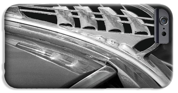 1938 Plymouth Hood Ornament 2 IPhone Case by Jill Reger