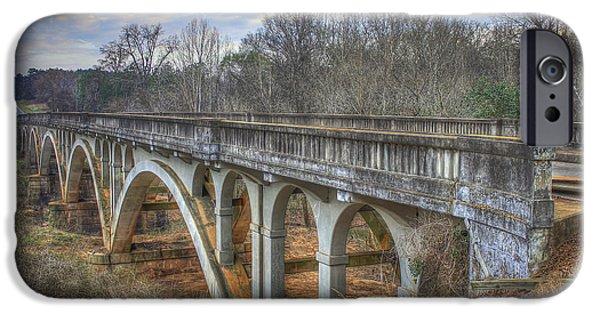 1941 Millmore Mill Bridge Highway 16 Hancock County IPhone Case by Reid Callaway