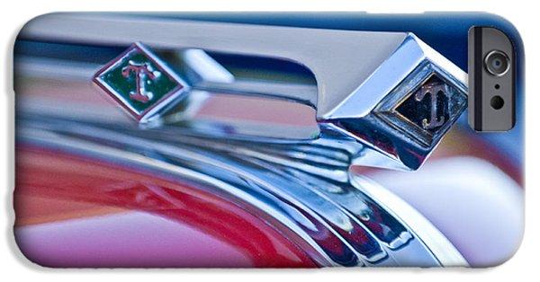 1949 Diamond T Truck Hood Ornament 3 IPhone 6s Case by Jill Reger