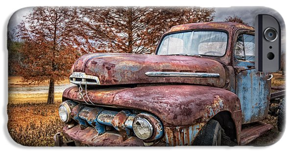 1951 Ford Truck IPhone Case by Debra and Dave Vanderlaan
