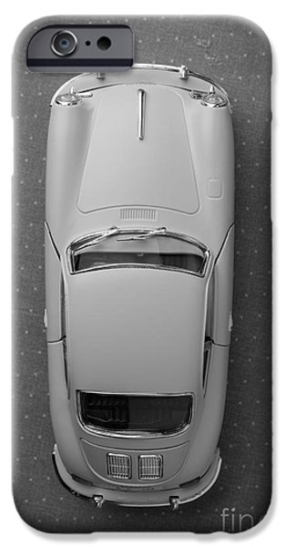 1961 Porsche 356 B Coupe IPhone Case by Edward Fielding
