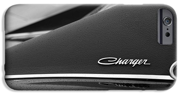1968 Dodge Charger IPhone Case by Gordon Dean II