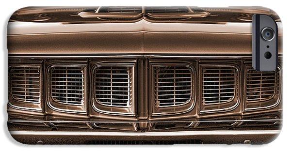 1971 Plymouth 'cuda 440 IPhone Case by Gordon Dean II