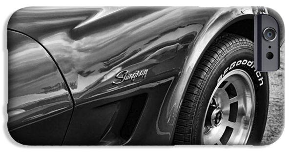1973 Chevrolet Corvette Stingray IPhone Case by Gordon Dean II