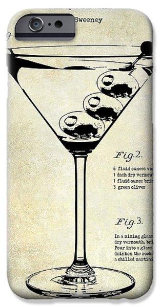 1897 Dirty Martini Patent IPhone 6s Case by Jon Neidert
