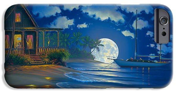 South Seas Paradise IPhone Case by Al Hogue