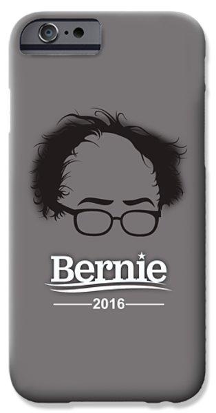 Bernie Sanders IPhone Case by Marvin Blaine