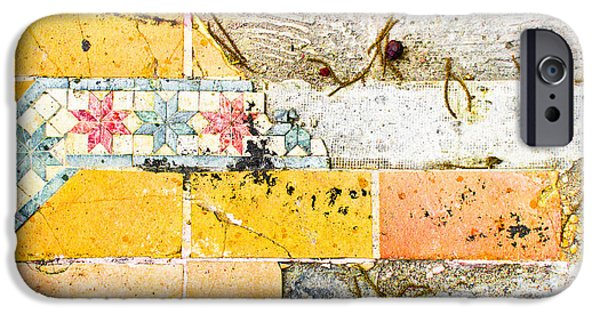 Broken Tiles IPhone Case by Tom Gowanlock