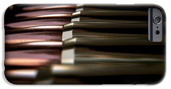 Bullet Array IPhone Case by Allan Swart