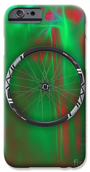 Carbon Fiber Bicycle Wheel Collection IPhone 6s Case by Marvin Blaine