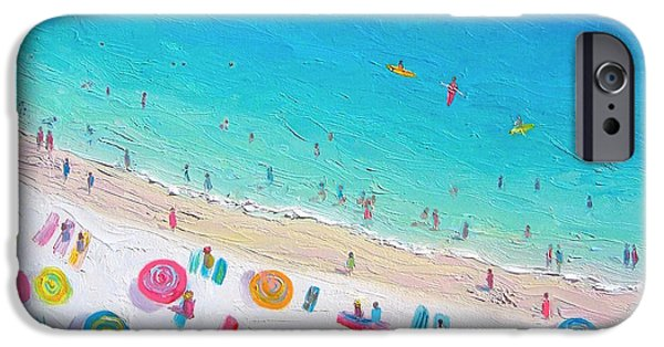 Colors Of The Beach IPhone Case by Jan Matson
