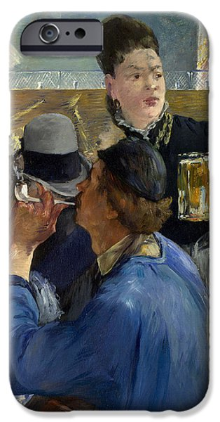 Corner Of A Cafe Concert IPhone Case by Edouard Manet
