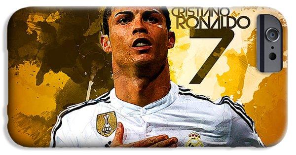 Cristiano Ronaldo IPhone 6s Case by Semih Yurdabak
