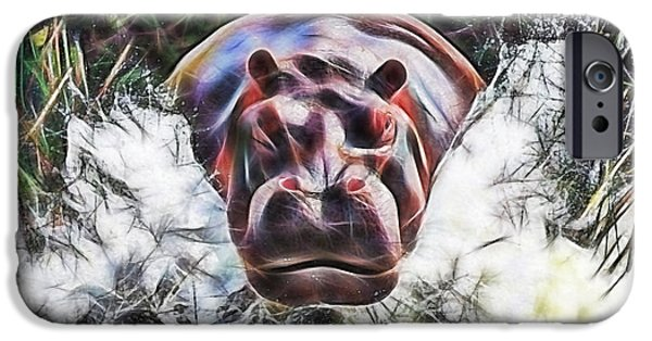 Hippo IPhone 6s Case by Marvin Blaine