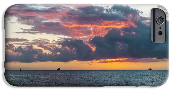 Key West Sunset IPhone Case by Elena Elisseeva