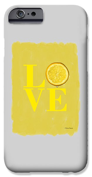 Lemon IPhone 6s Case by Mark Rogan