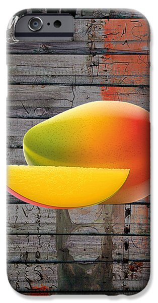 Mango Collection IPhone Case by Marvin Blaine
