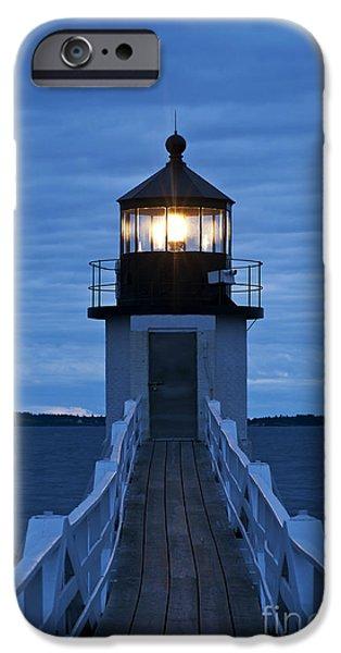 Marshall Point Light IPhone Case by John Greim