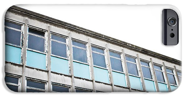 Old Office Building IPhone Case by Tom Gowanlock