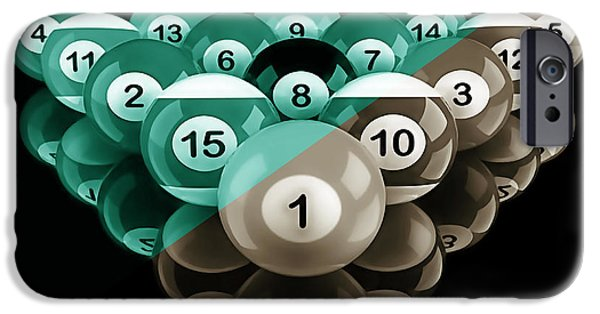 Rack'em Up Collection IPhone Case by Marvin Blaine