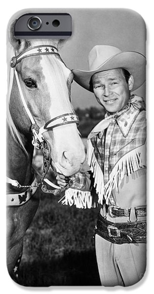 Roy Rogers IPhone Case by Granger