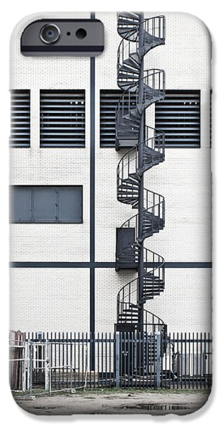 Spiral Stairs IPhone Case by Tom Gowanlock