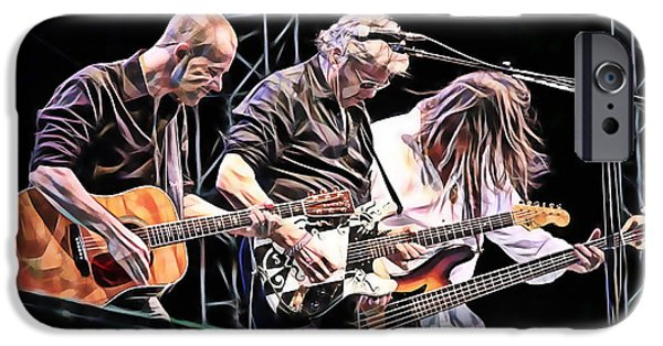 Steve Miller Band Collection IPhone Case by Marvin Blaine