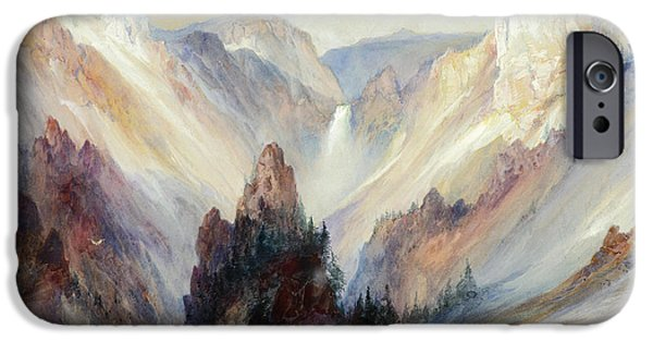 The Grand Canyon Of The Yellowstone IPhone Case by Thomas Moran