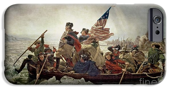 Washington Crossing The Delaware River IPhone 6s Case by Emanuel Gottlieb Leutze