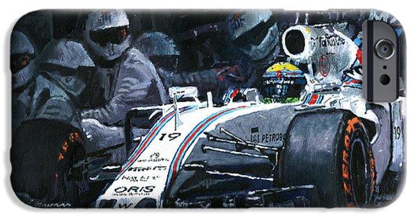 2015 Williams Fw37 F1 Pit Stop Spain Gp Massa  IPhone 6s Case by Yuriy Shevchuk
