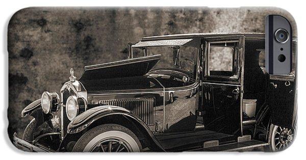 1924 Buick Duchess Antique Vintage Photograph Fine Art Prints 105 IPhone Case by M K  Miller