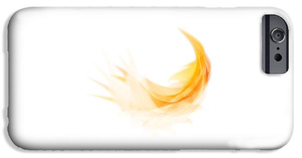 Abstract Feather IPhone Case by Setsiri Silapasuwanchai