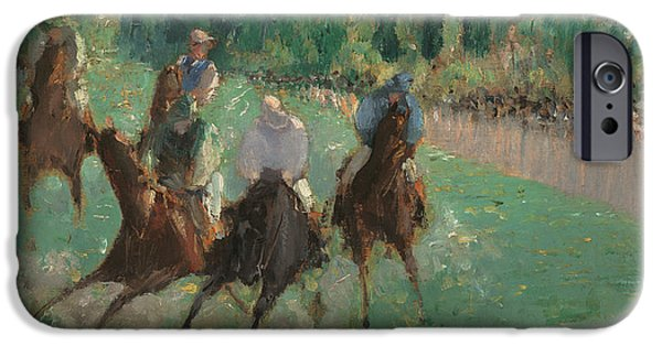 At The Races IPhone Case by Edouard Manet