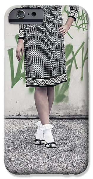 Black And White IPhone Case by Joana Kruse