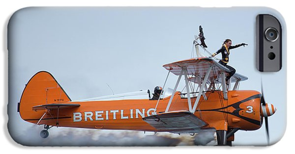 Breitling Wing Walker IPhone Case by Stephen Smith