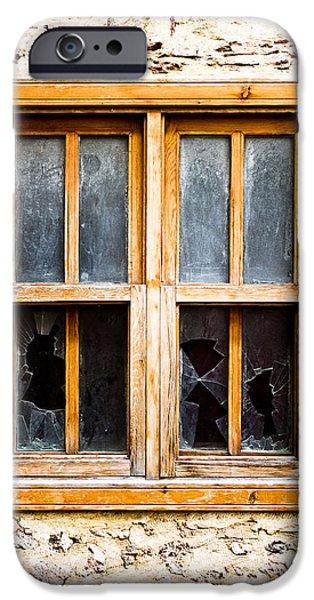 Broken Window IPhone Case by Tom Gowanlock