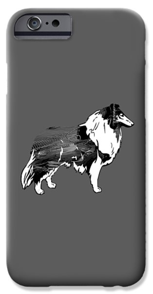 Collie Collection IPhone Case by Marvin Blaine