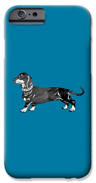 Dachshund Collection IPhone Case by Marvin Blaine