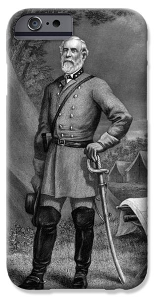General Robert E Lee IPhone Case by War Is Hell Store