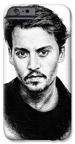Johnny Depp IPhone 6s Case by Andrew Read