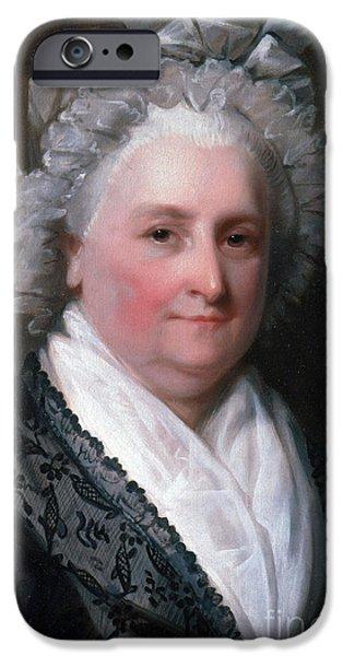 Martha Washington, American Patriot IPhone Case by Photo Researchers