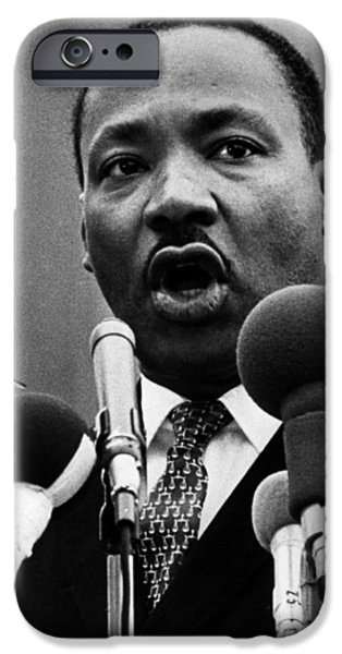 Martin Luther King Jr IPhone Case by American School