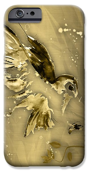 Owl Collection IPhone Case by Marvin Blaine