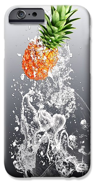 Pineapple Splash IPhone 6s Case by Marvin Blaine