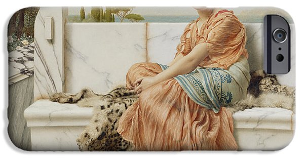 Reverie IPhone Case by John William Godward