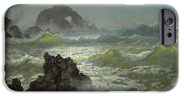 Seal Rock, California IPhone Case by Albert Bierstadt
