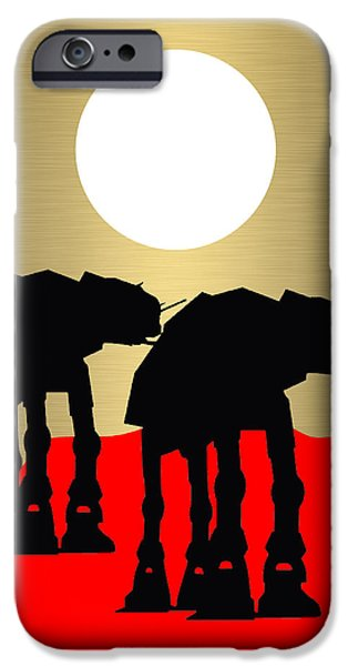 Star Wars At-at Collection IPhone 6s Case by Marvin Blaine