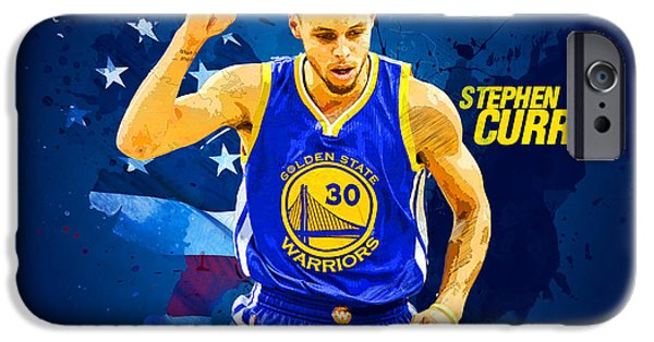 Stephen Curry IPhone 6s Case by Semih Yurdabak