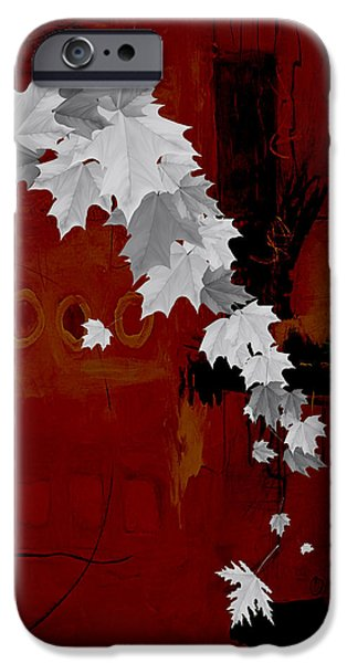 Tree Leaves Art. IPhone Case by Marvin Blaine