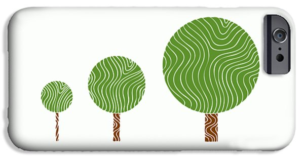 3 Trees IPhone Case by Frank Tschakert